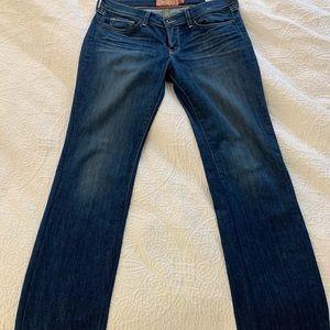 Lucky jeans, altered hem
